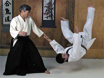 Exhibición de Aikido