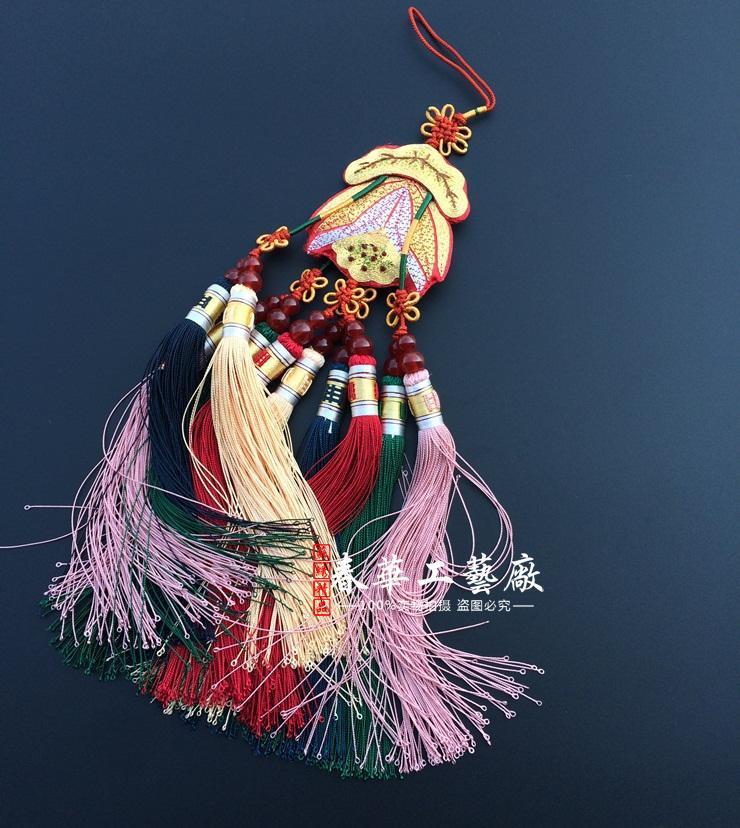 Taller hanbok y bolsa de la suerte