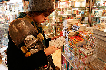 Cómo leer un manga